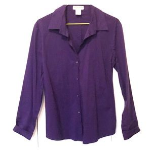 Violet Women's Button Down